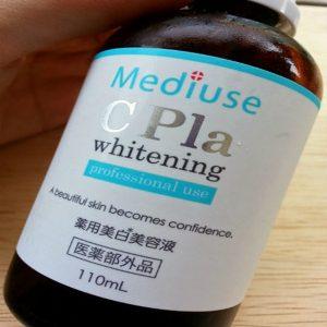 Thành phần của Serum nhau thai cao cấp Mediuse Cpla Whitening Nhật Bản Chiết xuất từ nhau thai dạng nền ( không lẫn hoá chất, không bị pha loãng) Vitamin C dạng tan trong nước Chiết xuất từ dây rốn vitamin A ( nhanh làm lành vết thương sau mụn) Dầu hoa hồng HA cấp ẩm cho da Axit lactic Citrate Hydroxit Na Axit lactic Phenoxyethanol Ethanol Thành phần của Serum nhau thai cao cấp Mediuse Cpla Whitening Nhật Bản