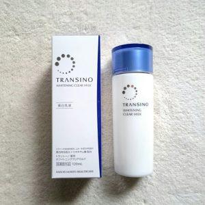 Sữa dưỡng trắng da Transino Whitening Clear Milk Nhật Bản