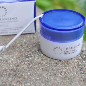 Kem đêm trị nám Transino Whitening Repair Cream Nhật Bản