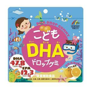 Kẹo bổ sung DHA và EPA cho bé ăn dặm của Nhật Bản