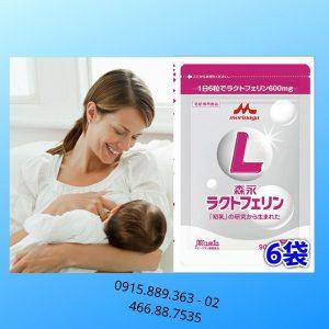 Viên uống bổ sung Lactoferrin cho mẹ sau sinhMorinaga Nhật Bản