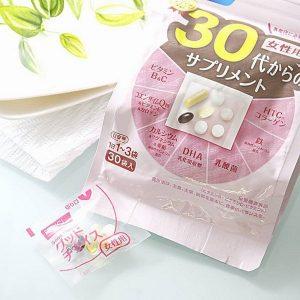 TPCN bổ sung dưỡng chất toàn diện cho phụ nữ ở tuổi 20, 30, 40, 50, 60 Fancl của Nhật