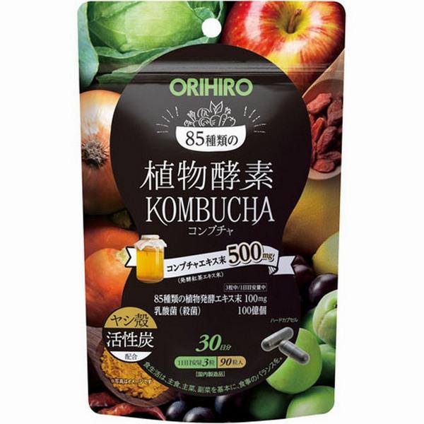 TPCN Enzyme thực vật Kombucha Orihiro hỗ trợ tiêu hóa