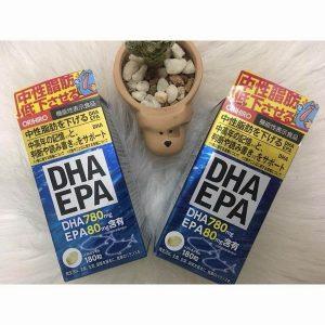 Thuốc bổ não DHA & EPA Orihiro Nhật Bản
