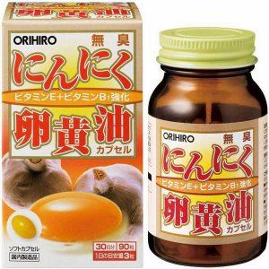 TPCN Tỏi đen & lòng đỏ trứng Orihiro