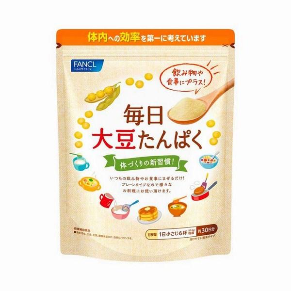Bột đậu nành Fancl Nhật Bản bổ sung protein hữu cơ
