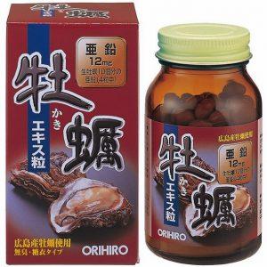 Viên uống Tinh chất hàu tươi Orihiro Nhật Bản