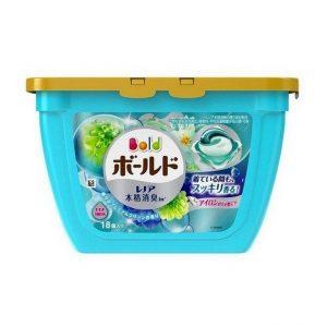 viên-giặt-xả-màu-xanh