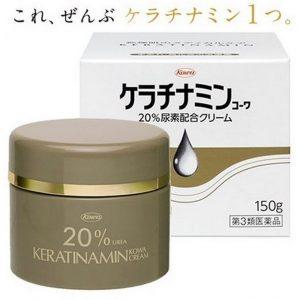 Tinh chất trị á sừng Keratinamin Kowa Nhật Bản