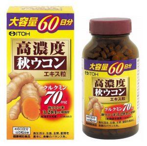 Tinh chất nghệ ITOH Nhật Bản lọ 300 viên
